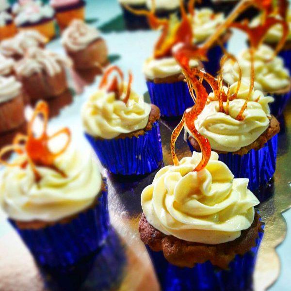 Cupcake de Banana y Caramelo